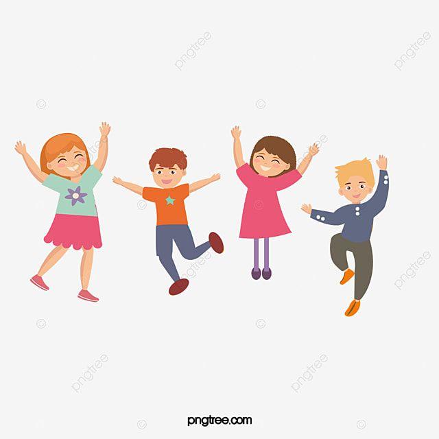 صور كرتون اطفال سعداء قصاصات فنية رسوم متحركة اقفز Png وملف Psd للتحميل مجانا Cartoon Pics Happy Cartoon Happy Kids