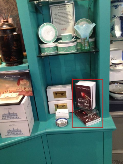"""George Washington's Liberty Key:  Mount Vernon's Bastille Key"" book now available at the Shops at Mount Vernon:  http://shops.mountvernon.org/george-washington-s-liberty-key.html"