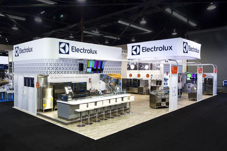 Exhibition Stand Builders Usa : Exhibitor ab electrolux system bematrix usa design e