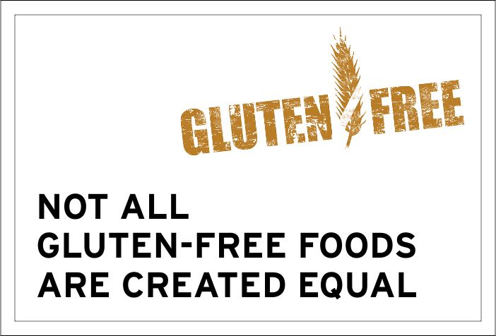 It's crucial to remember that a healthy product isn't just determined by what is not in it- it's so much more important to check out what IS in it! Not all gluten-free foods are created equal.