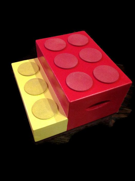 Step Stool for Kids - Childu0027s Step Stool - Red - Yellow - Solid Wood - Kids Bathroom Accessories - Non Toxic Paint - Kitchen Stool for Kids by ... & Best 25+ Step stool for kids ideas on Pinterest | Step stool for ... islam-shia.org