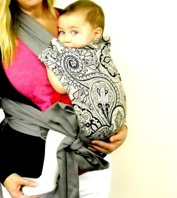 Mei Tai Baby Carrier Cotton Baby Carrier Toddler by GracieandSam, $90.00
