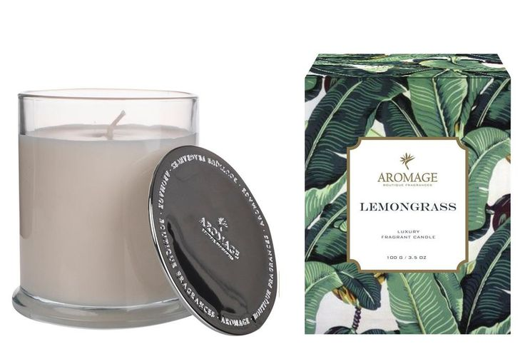 Aromage Luxury Fragrant Candle - Lemongrass 100g  #Luxury #madeinaustralia #thefragranceroom #candles #sale #oils #soy #reed #premiumquality #diffuser