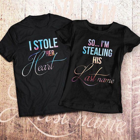 Just Married 2018 Vacation Honeymoon Tshirts His & Hers Disney Inspired uddaZD