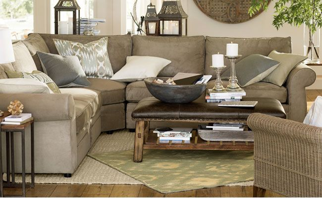 Pottery barn - Pearce sofas & sectionals! | house ...