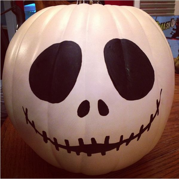 Ways To Paint A Pumpkin: 47 Fun, Easy Ways To Paint Your Pumpkins This Halloween