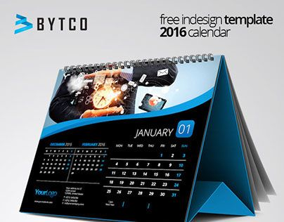 free 2016 calendar template indesign cs 5 format from calendars pinterest. Black Bedroom Furniture Sets. Home Design Ideas