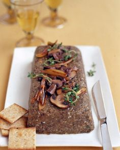 Lentil Pate http://www.marthastewart.com/316635/lentil-pate?czone=food/vegetarian-cnt/vegetarian-party-recipes=852566=366244=257724