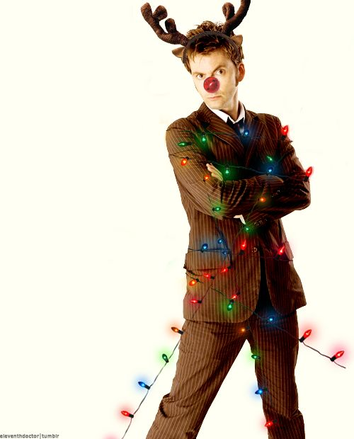 Everyone deserves Tennant on their dashes at Christmas time ;D