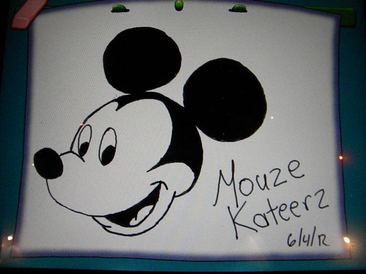15 best images about mickey mouse drawings on pinterest for How do you draw a mouse