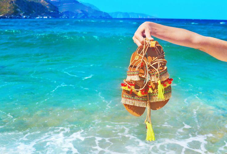 Beach Sandal DIY   HowTwo! (ハウトゥー) - オトナ可愛い動画マガジ -