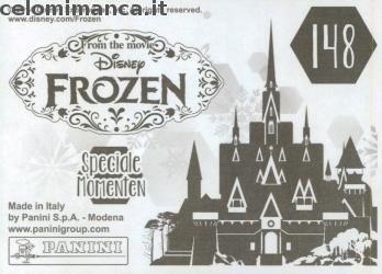 Frozen 2 - Momenti Magici: Retro Figurina n. 148