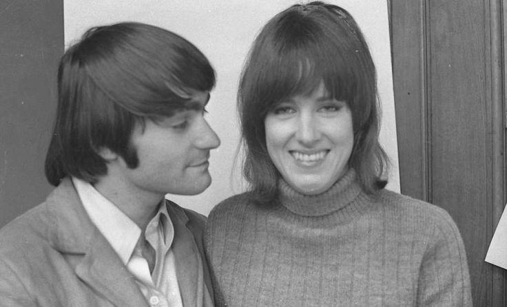 Marty Balin and Grace Slick in January 1967....