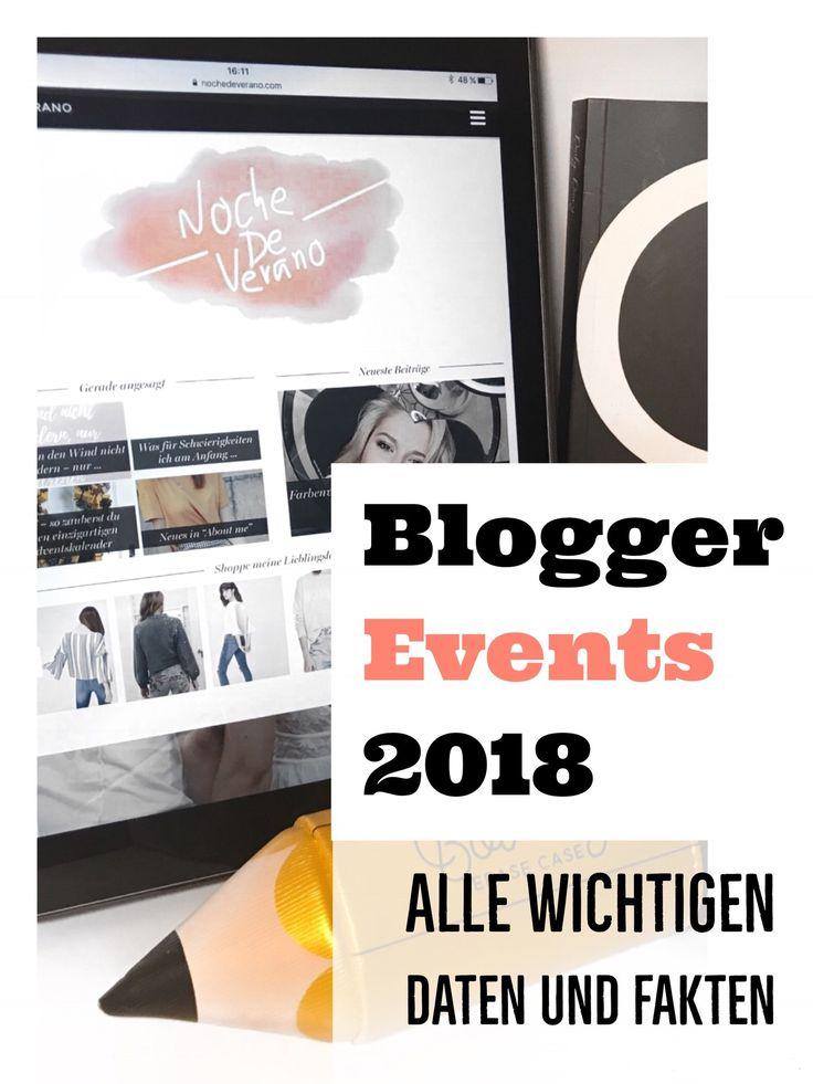 2018 ist gestartet und schon beginnt die Planung für das neue Jahr. Welche Termine du dir jetzt als Blogger/in merken solltest habe ich in diesem Beitrag zu Blogger Events 2018 zusammengefasst. #events #blog #blogger #bloggertipps #bloggerevents #2018 #events2018 #bloggerevents2018