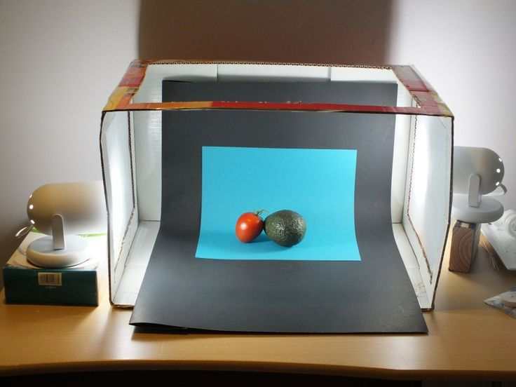 How to build a Small Beginners Lightbox for Food Photography | The Best Blog Recipes