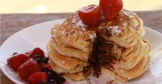 The Secret To Making Pancakes Taste Even Better? Nutella!