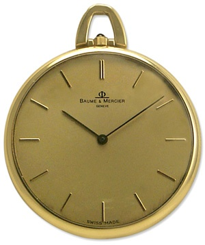 Baume & Mercier Vintage Pocket Watch