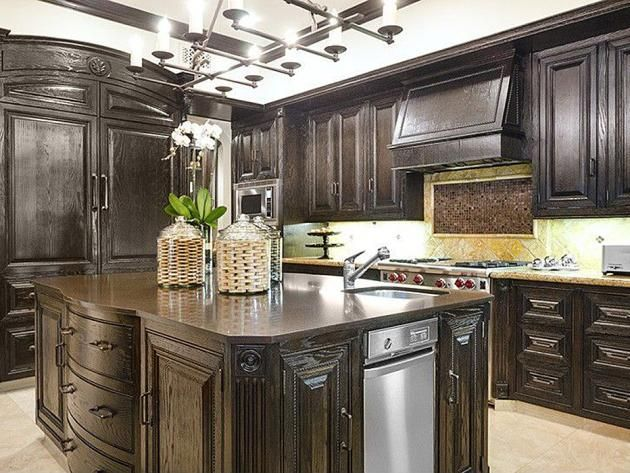 Best Celebrity Kitchens Images On Pinterest Dream Kitchens