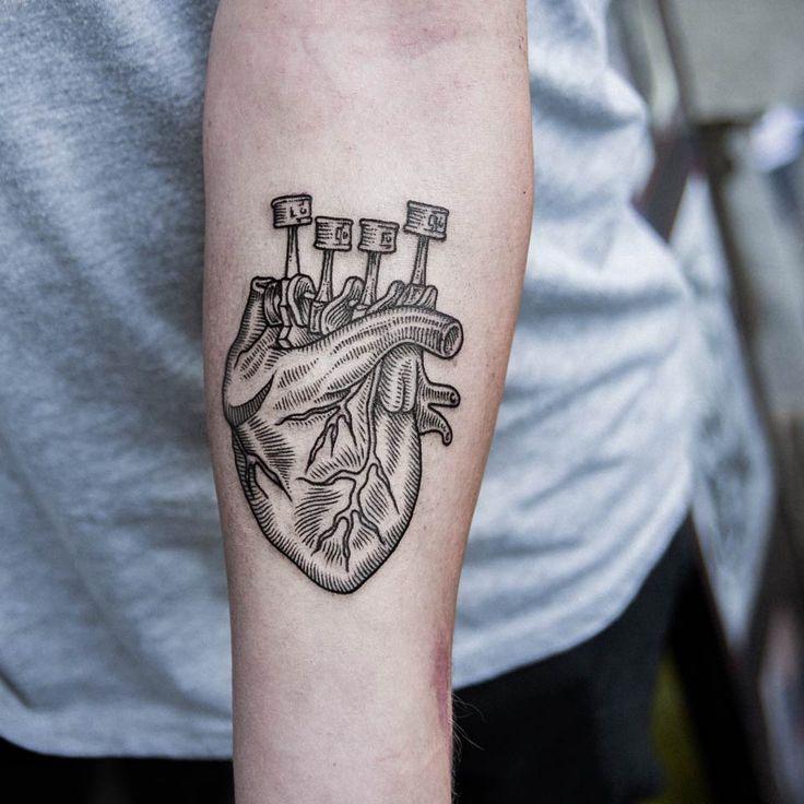25+ Best Ideas About Engine Tattoo On Pinterest
