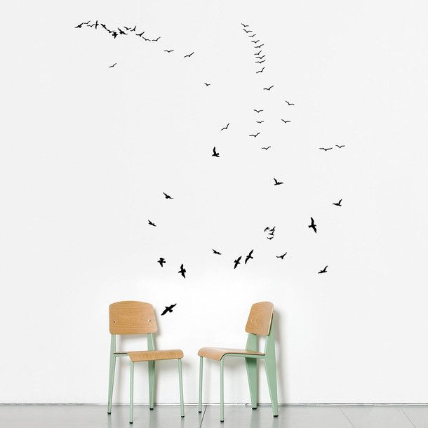 Timorous Beasties wall stickers