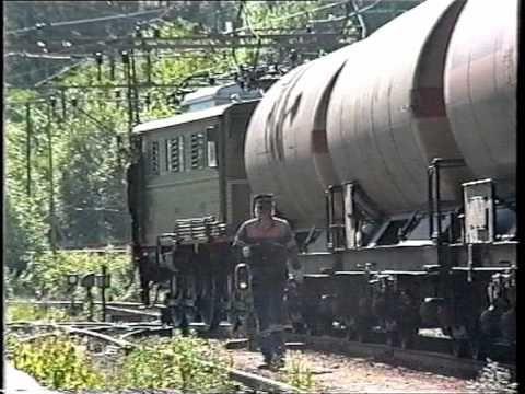 Rjukanbanen, den siste ordinære turen, 4. juli 1991.