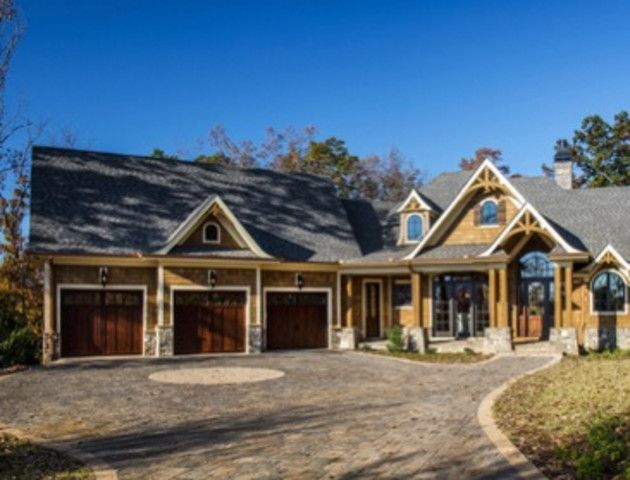 The Ashville Cottage rustic home plan boast an open design with optimum views of your amazing lot. This Mountain home plan is perfect for a main home of for vacation