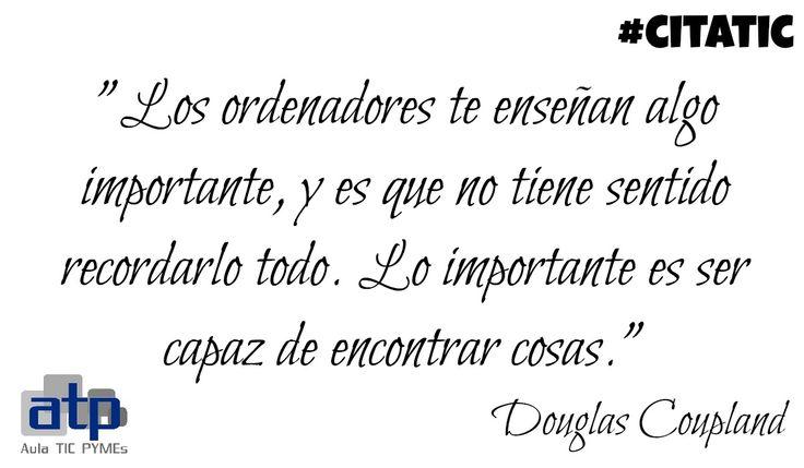 Cita de Douglas Coupland
