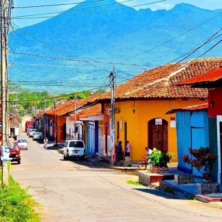 Granada Nicaragua, Matagalpa, Nicaragua - Before hiking the volcano (in the distance)