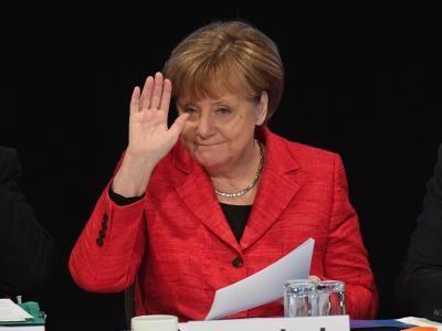 Bären-Blatt Kindernachrichten. Angela Merkel will weiterhin Bundeskanzlerin bleiben. Ob das klappt, entscheidet sich nach der Bundestagswahl im September. Foto: Stefan Sauer/dpa