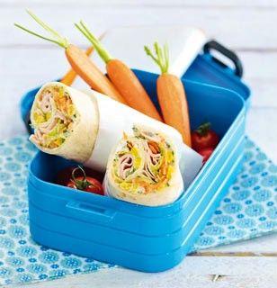Das Rezept für Gemüse-Wraps mit Putenbrust und weitere kostenlose Rezepte auf LECKER.de