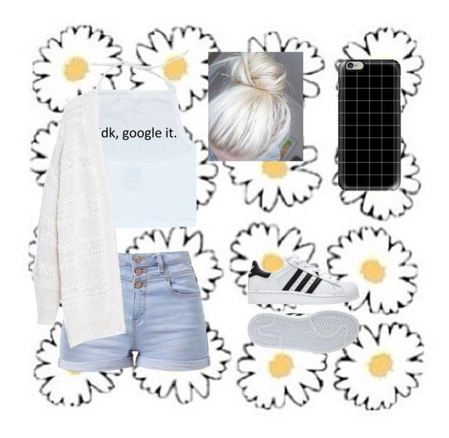 """Tumblr teen"" by raque-santacruzv on Polyvore featuring moda, Violeta by Mango, adidas y Casetify"