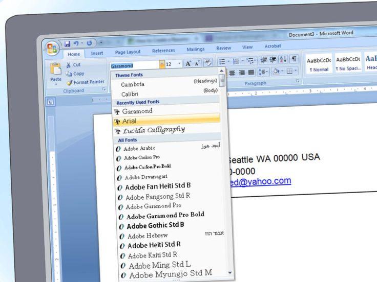 Resume Resume Format Microsoft Word Sample Download Ms