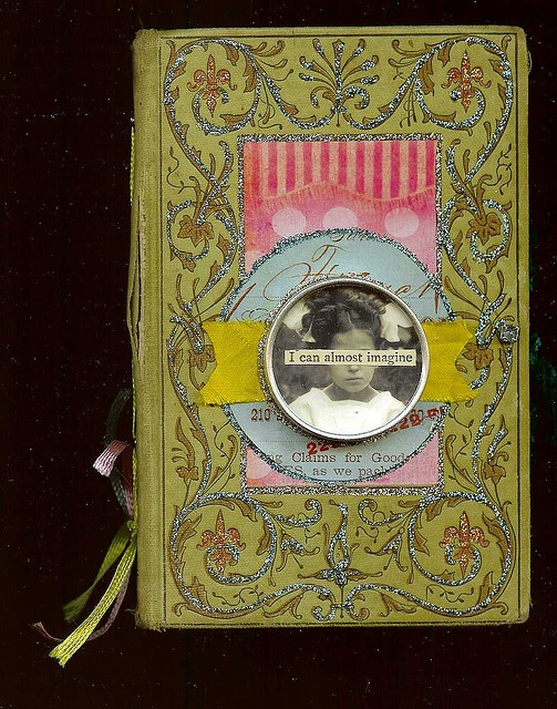 Book Cover Collage Zip ~ Best images about altered books book art on