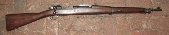 No 8. 1903 SPRINGFIELD - USA  Type : Bolt-Action Rifle  Caliber : 7.62 x 63 mm  Muzzle VelocityApproximately 2,700 feet per second  Rate of Fire : 10 rounds per minute. Produced from the German 7mm Mauser, the 1903 Springfield boasted phenomenal accuracy. The rifle continued in service through World War II and Korea and was also used as a sniper rifle in Vietnam.