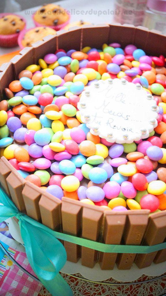 Gâteau Au Chocolat Kit Kat & Smarties
