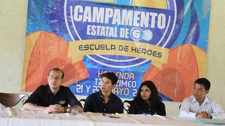 En el campamento estatal de Acción Juvenil, el jefe estatal del blanquiazul conminó a los jóvenes a seguir participando en la vida política del partido, ya que de las filas ...