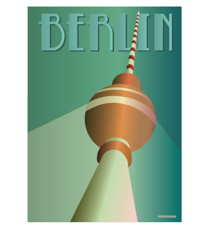 Berlin - at Alexanderplatz. You can buy this piece at www.artrebels.com #artrebels #art #vissevasse