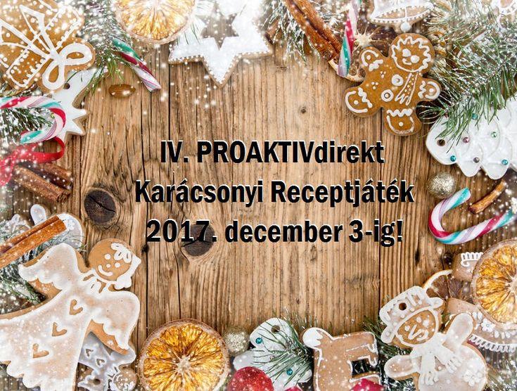 Karácsonyi Receptjáték 2017. - PROAKTIVdirekt Életmód magazin és hírek - proaktivdirekt.com