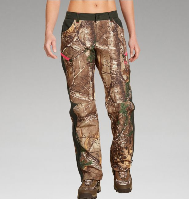 UA Women's ColdGear® Infrared Speed Freek Pant in Realtree Xtra Camo  #Realtreecamo
