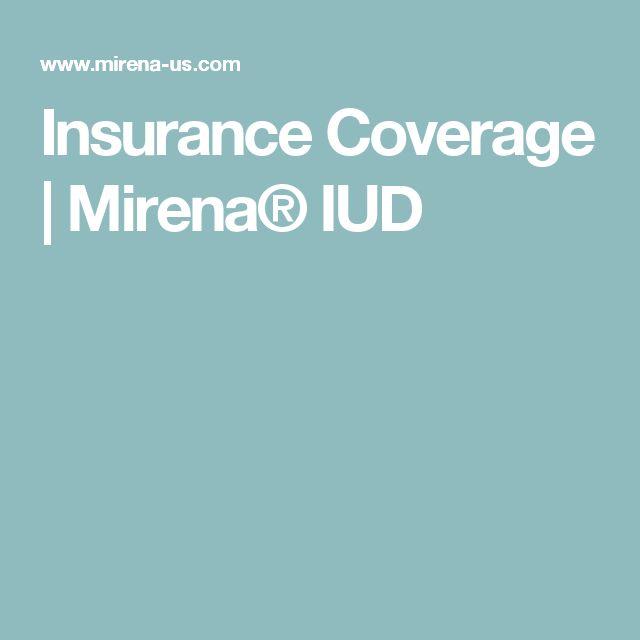 Insurance Coverage | Mirena® IUD
