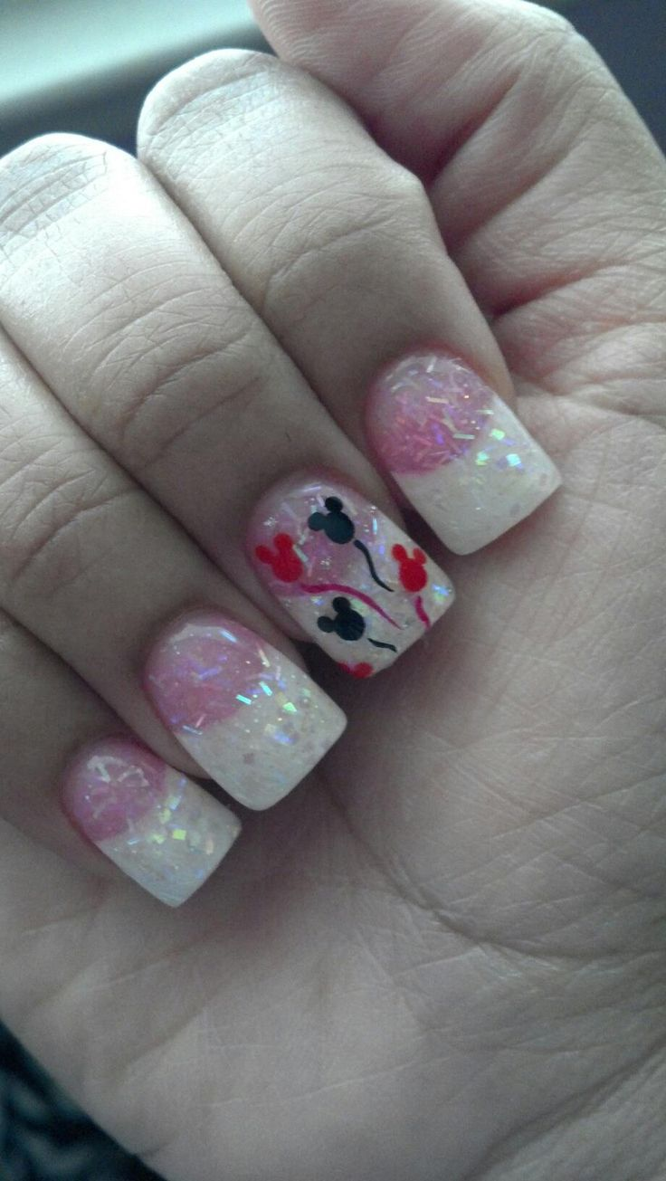 157 best Unhas Disney Mickey Mouse /nail images on Pinterest ...