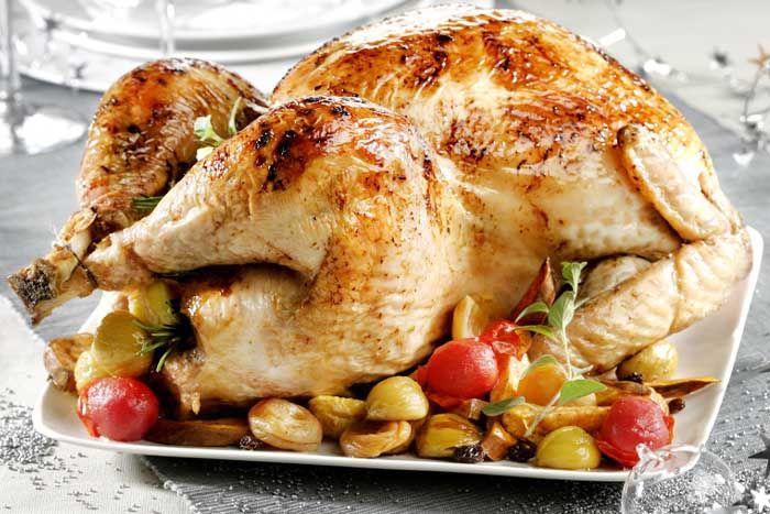 Pavo Relleno De Frutos Secos Receta Navideña Lista En 6 Pasos Mi Comida Peruana Peruvian Recipes Food Turkey