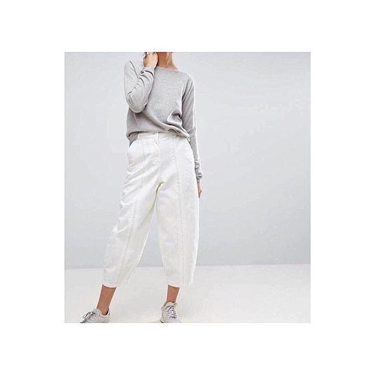 "18 Likes, 1 Comments - ASOS WHITE (@asos_white) on Instagram: ""#comingsoon our fray detail jeans ✨ #asoswhite #minimal #ootd #momjeans #fbloggers #styleinspo"""