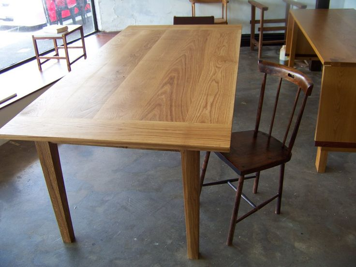Oak dining table | Hercynia silva – Bespoke furniture