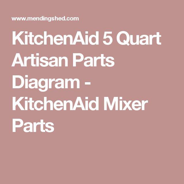 kitchenaid 5 quart artisan parts diagram kitchenaid mixer parts - Kitchenaid Mixer Parts