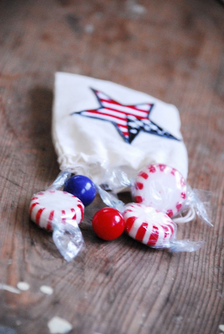 patriotic party favor bags
