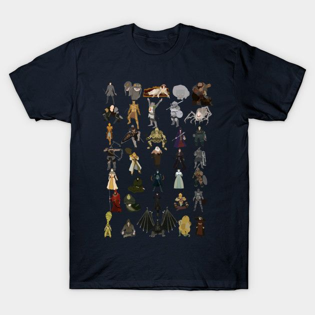 Dark Souls NPCs on #TeePublic by DigitalCleo #darksouls #solaire