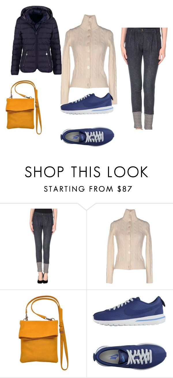 """look da viaggio"" by ivy80 on Polyvore featuring moda, Manila Grace, SUN68, Most Wanted e NIKE"