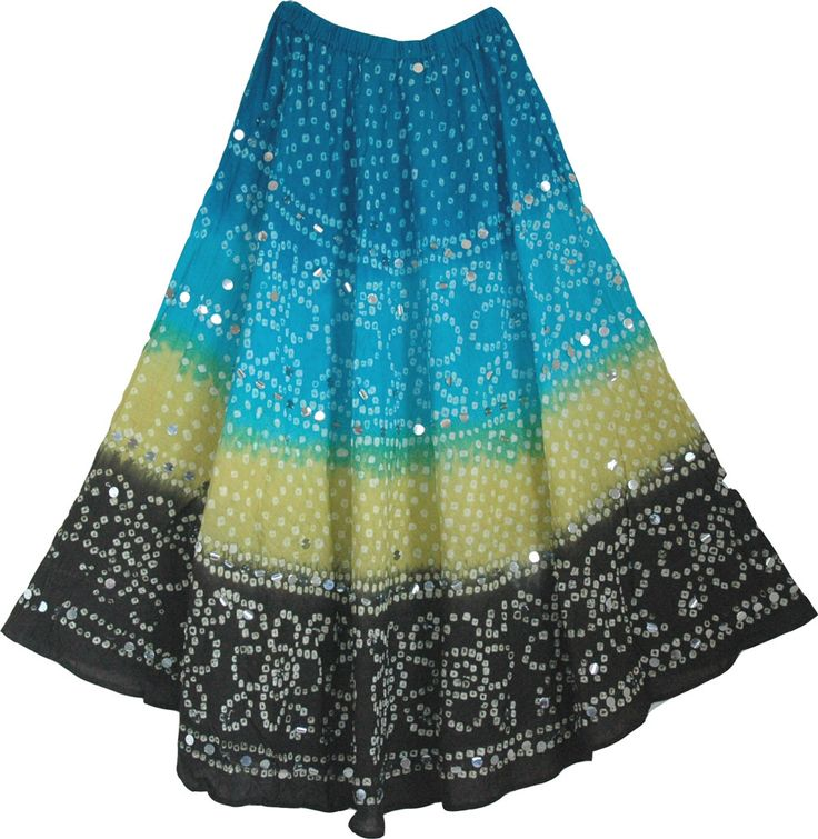 I just want to wear Indian skirts all summer. Please? :)