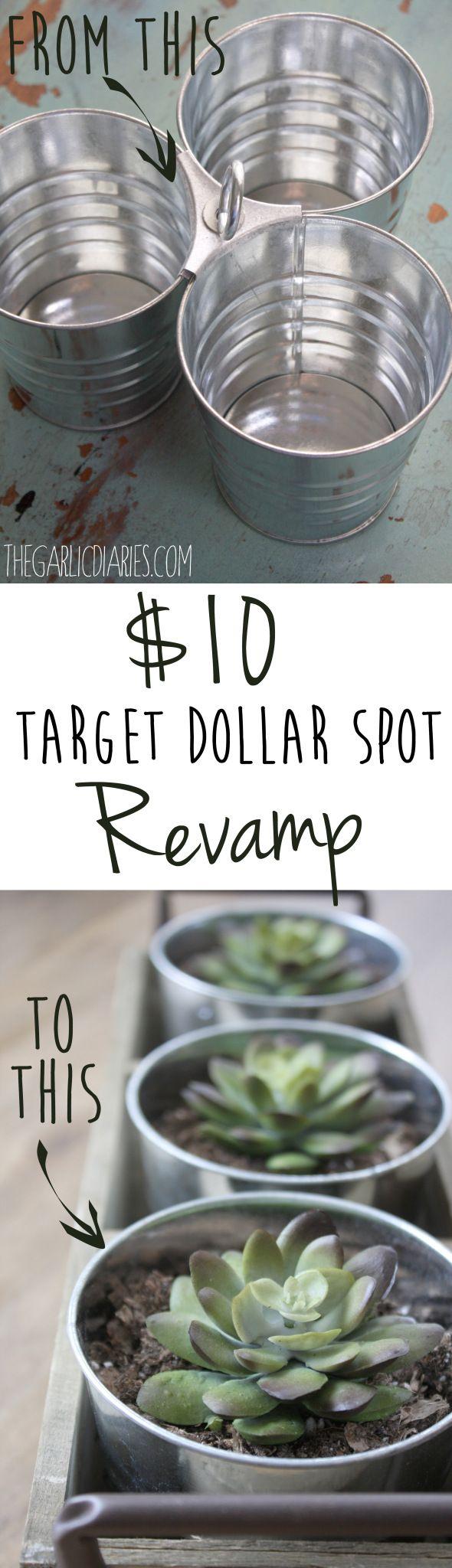 $10 Target Dollar Spot Revamp -- TheGarlicDiaries.com